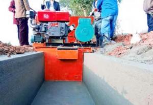 矩形混凝土水渠成型机