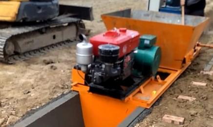 修水渠施工视频