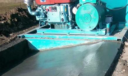 异型路基排水边沟滑模机