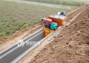 水沟盖板槽滑模一次成型机(陕西)