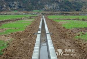 排灌防渗渠现浇成型机