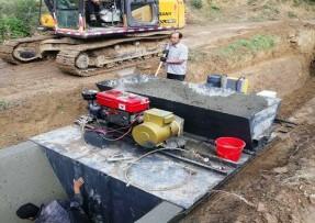 混凝土水沟一次成型机技术交底书