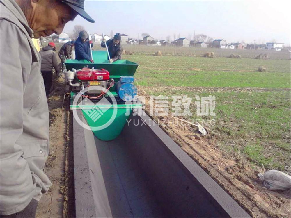 安徽阜阳排水灌溉渠道现场