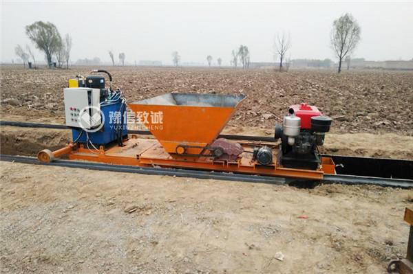 修水渠机器