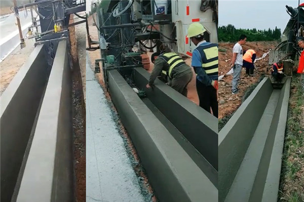 国外进口维特根机器修水渠