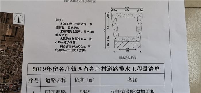 钢筋混凝土水渠图纸