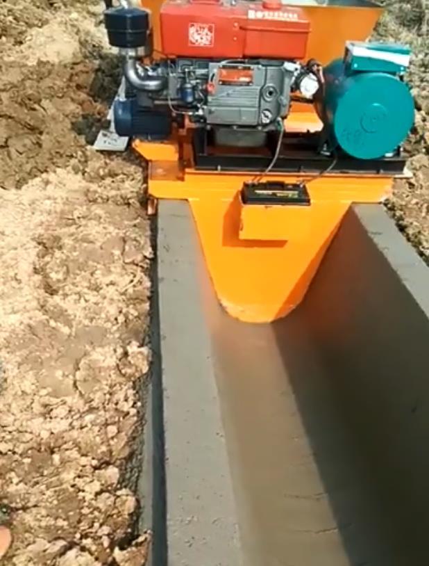 U型水沟混凝土机器